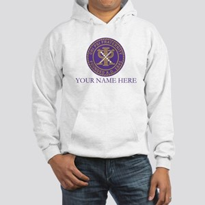 Chi Psi Shield Personalized Hooded Sweatshirt